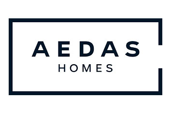 Logo de la promotora AEDAS HOMES.