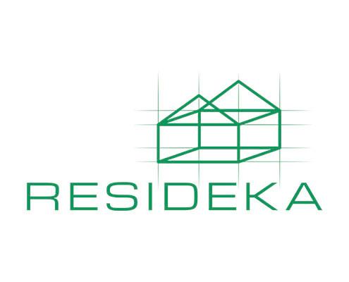 Logo de la promotora RESIDEKA